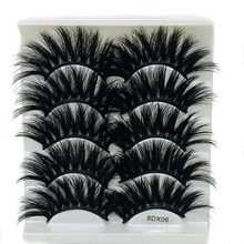 Makeup Extension-Tools False-Eyelashes Faux-Mink-Hair Beauty Wispy Natural/thick 5pairs
