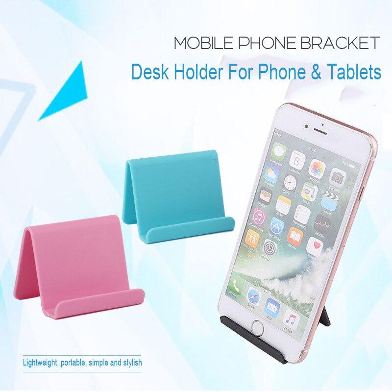 Mobile-Phone-Holder-Table-Desktop-Stand-Plastic-Desk-Mount-Candy-Color-Mini-Portable-Holder-Universal-Bracket