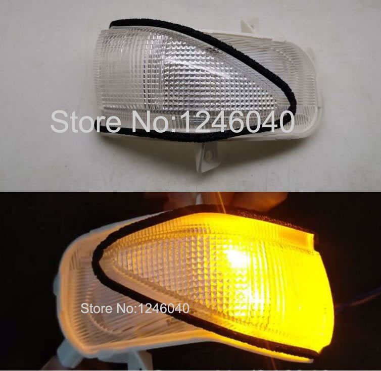 Cocas Exterior Rearview Mirror Cover Housing Case for Honda FIT Jazz 2009 2010 2011 2012 2013 2014 with Turn Signal Lamp Type No Color