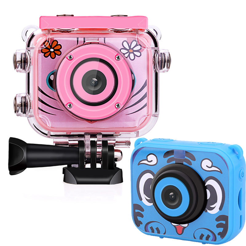 Newest Children Mini Camera 2.0 Inch LCD Screen Digital Camera Waterproof 1080P Video Photo Camera For Children Birthday Gift title=