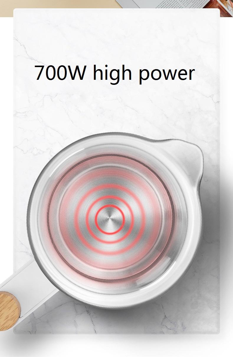 Théière electrique multi-fonction vue de la resistence | oko oko