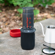 PAPER-FILTERS Aeropress Coffee-Maker/fifth-Generation Portable Travel with 350 15oz Go-New