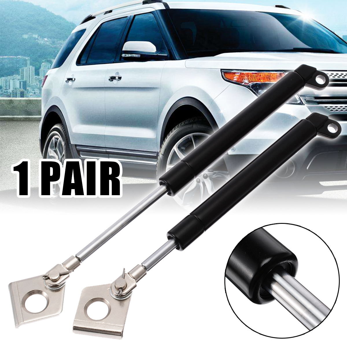 Rear Tailgate For Ford Ranger PX 2011-2017  Hydraulic Rod Tailgate Gas Strut