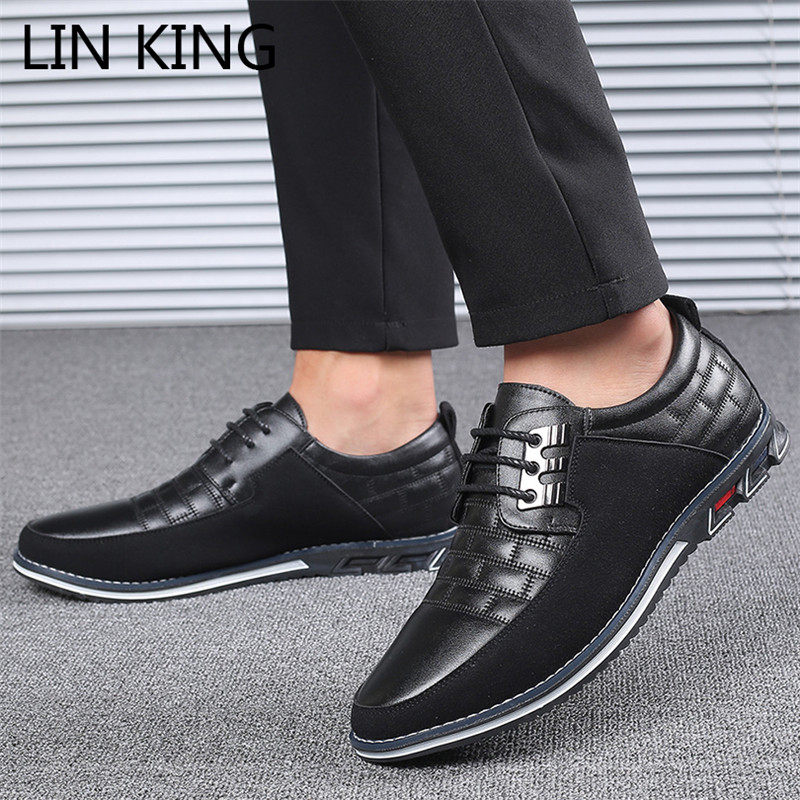 Lazy Shoes Mens Driving Shoes Spring Fall Leather Shoes,Comfort Lace up Shoes, Fashionable Loafers /& Slip-ONS,Classic Casual Flats