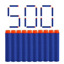 500pcs 7.2cm Refill Bullets Compatible for Nerf N-Strike Elite Series Blasters Kid Toy Guns Foam Darts