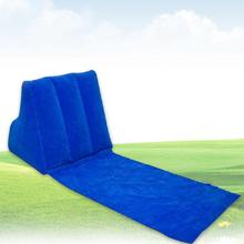 With Inflatable Pillow Lounger Cushion Air Bed Waterproof Rest Beach Mat Camping