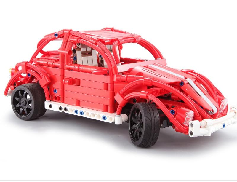 CaDA C51016 Red Beetles RC Building Block 47