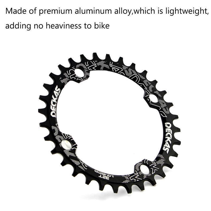 Deckas Crank & Chainwheel 96BCD 32T34T36T38T Round Oval Narrow Wide Chainring MTB Road Bike Crankset Chainwheel Bicycle Parts (10)