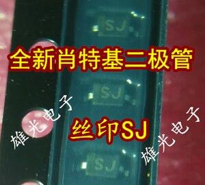 10 шт. 1N5817 1N5817WS 0805 SOD323 SJ Новый и оригинальный