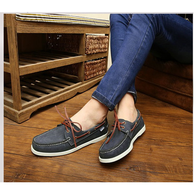 Men Loafers Shoes Genuine Leather Casual Sneakers Male Fashion  Boat Footwear Soft Dress Party Shoes Men Designer men's shoes