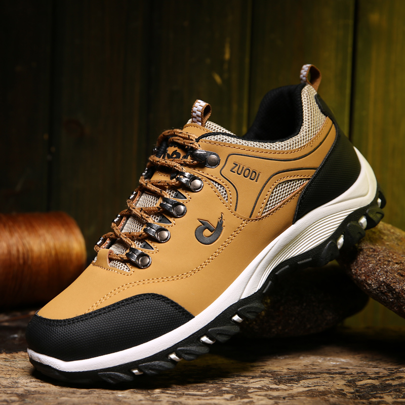 Hiking Shoes Sneakers Men Outdoor Hunting Casual Wear-Resisting title=