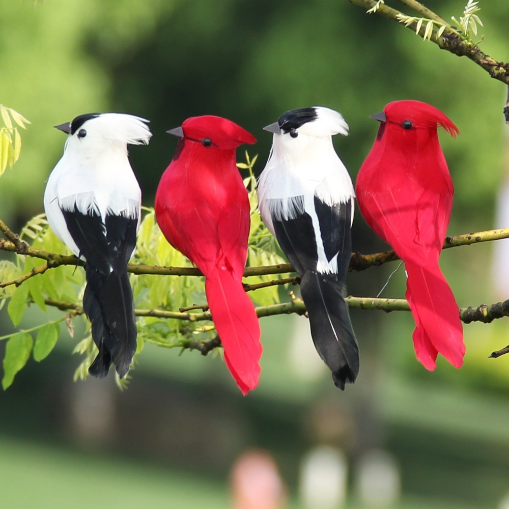 Artificial Parrot Bird Foam Simulation Wedding Party Home Photography Props New