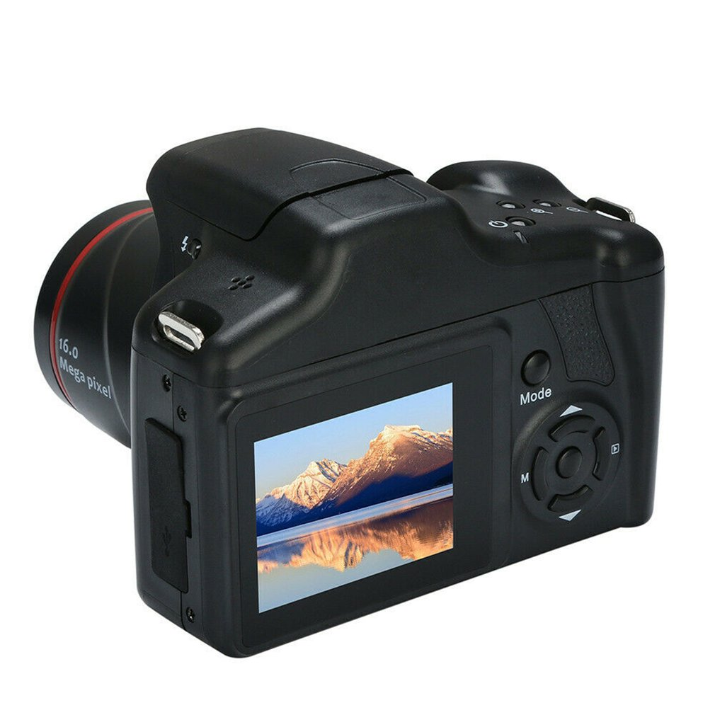 SLR Camera Pixel Digital High-Resolution 1080P Slr-Film 16x-Zoom Home HD 2-Million title=