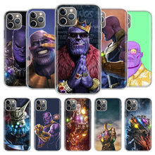Чехол для телефона Thano Infinity Gauntlet для iPhone 11 Pro 7 6X8 6S Plus XS MAX + XR 5S Eleven Art TPU чехол(Китай)