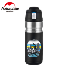 Water-Bottle Naturehike 316-Stainless-Steel 500ML Insulated Leakproof