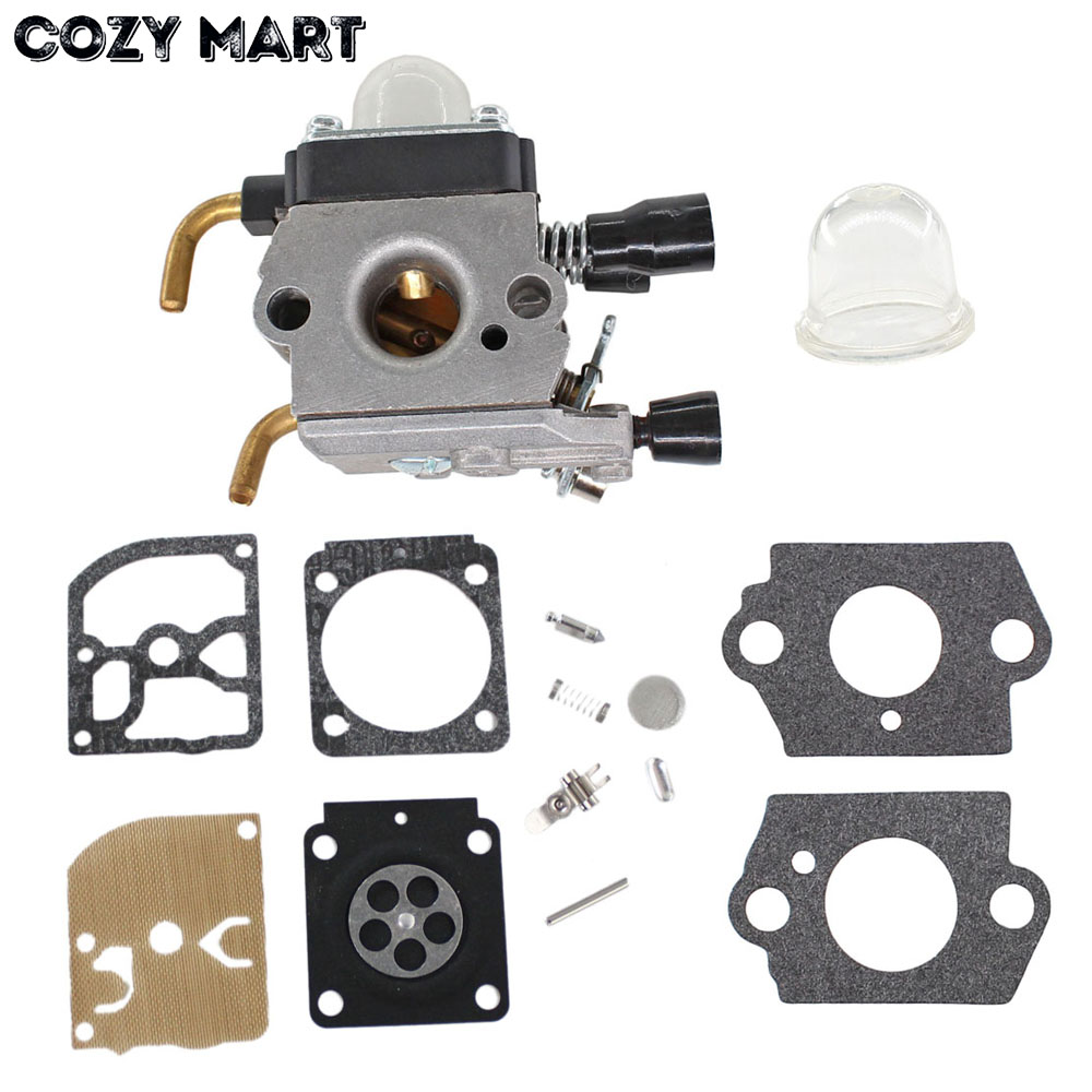 Carburetor kit For STIHL Zama FS38 FS45 FS46 FS55 FS55R KM55 FS85 4140-120-0619