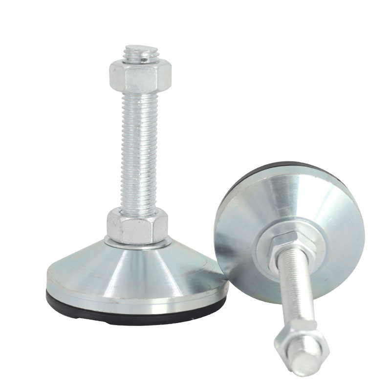 Adjustable Foot Cups M8/M10/M12 Thread Solid Screw furniture support legs Levelling Feet anti-slip Furniture Glide Pad