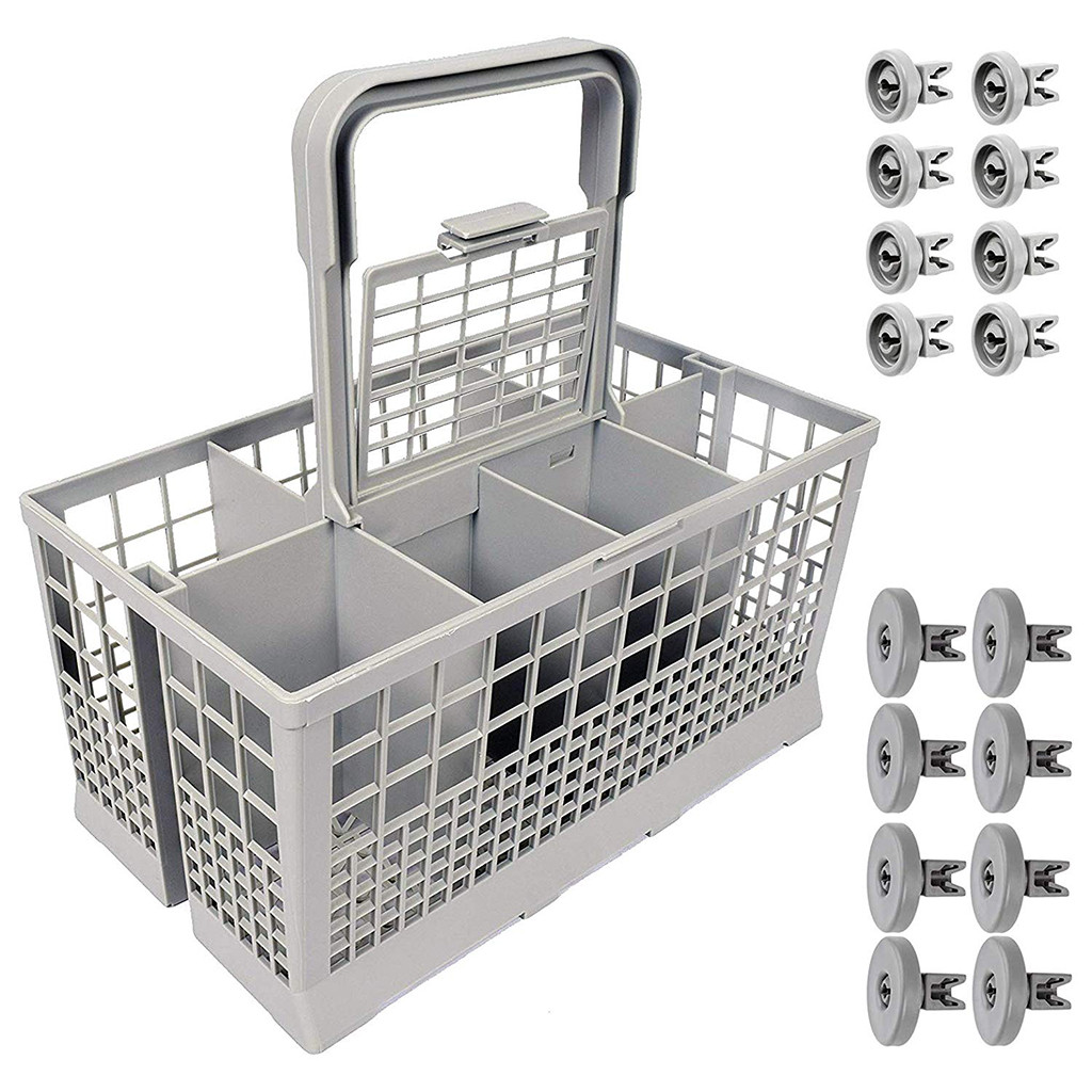 8 x Small Upper Basket Rack Wheel Wheels for Baumatic Dishwasher 25mm