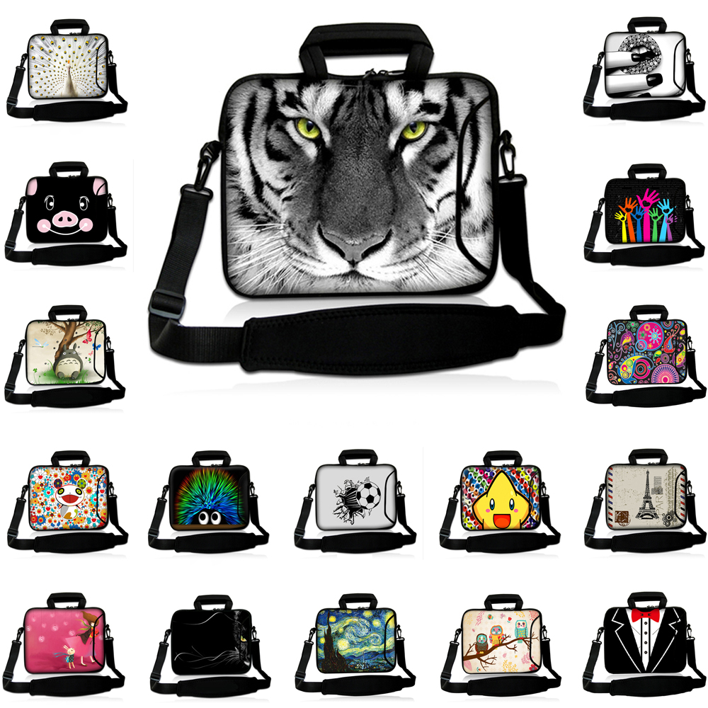 Boys Girls School Notebook Carry Bag 10/12/13/14/15/17 Inch Messenger Briefcase Computer Accessories Handle Case For Dell XPS 17