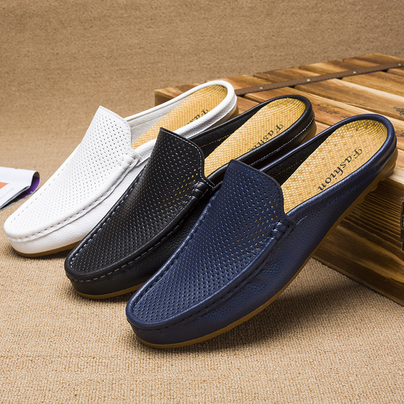 Hot Selling Summer New Style Dual Purpose Breathable Shoes Men Fashion Casual Breathable Anti-slip Slippers Sandals Closed-toe