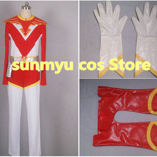 Cosplay-Costume Hawk Sentai Halloween Jetman Custom-Size Choujin Wholesale Red