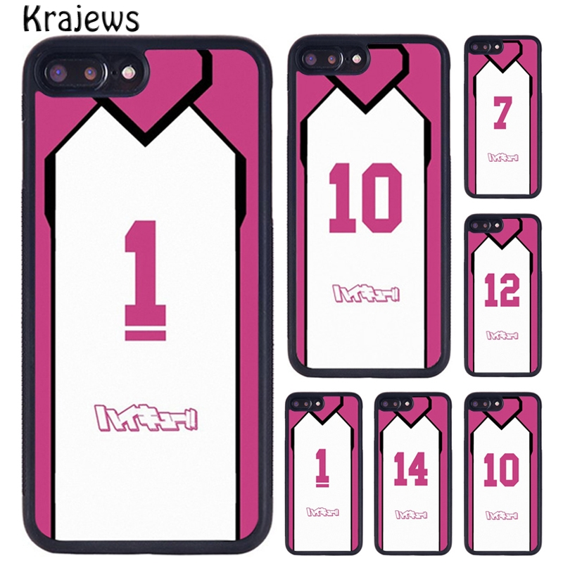 Krajeeves HAIKYUU! JERSEY SHIRATORIZAWA аниме чехол для телефона iPhone X XR XS 11 Pro MAX 5 6 6S 7 8 Plus Galaxy S7edge S8 S9