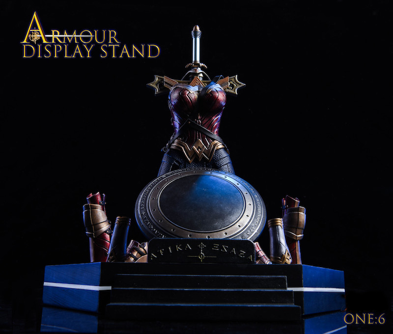 TYStoys 1//6 SJT-A Wonder Woman Beam Table Armor Can Be Worn On 12/' Figure Model