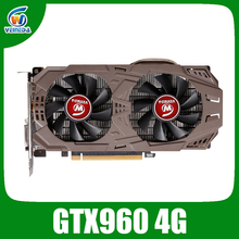 Schede grafiche GTX960 4G GDDR5 128Bit nVIDIA PC Desktop di scheda video PCI Express 2.0 schede video per computer Stronger di GTX 1050