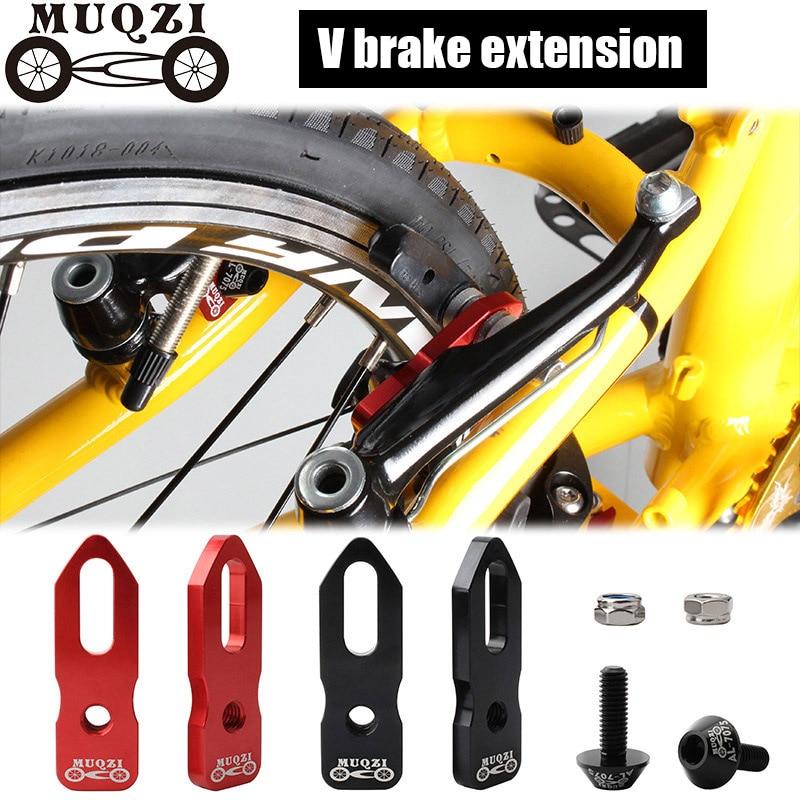 406 To 451 Bike V Brake Converter Rack Extension Frame Holder Adapter Black Red