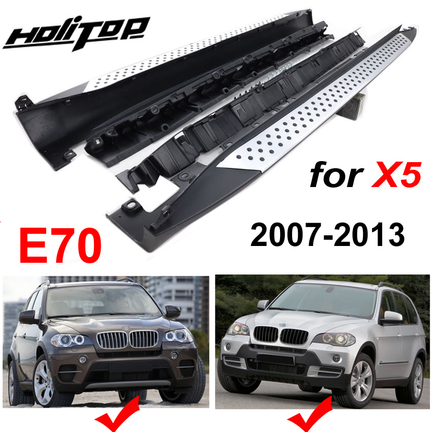 Front Rear Mud Flaps Splash Guards 2007-2010 BMW X5 E70 w// Running Boards