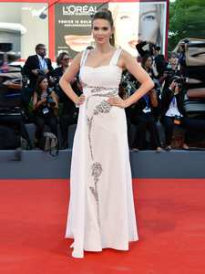 Straps White Floor-Length 9162 Venice-Film Festival Dresses/formal-Gowns Spandex Natural