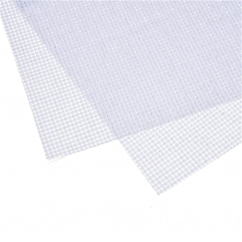 30x30cm 30x45cm Aida Cloth 11CT 100% Cotton Embroidery Cross Stitch Fabric Canvas DIY Needlework Sewing Handcraft Tool For Women (5)