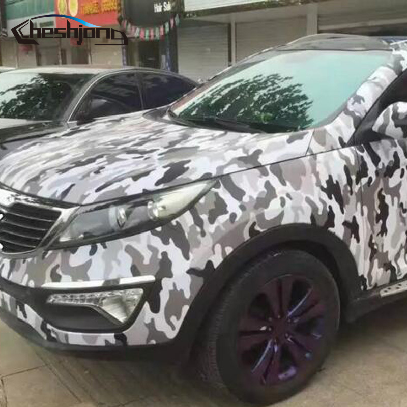 black-white-Jumbo-Camo-Car-styling-Truck-Body-Rearview-Mirror-Decal-Camouflage-Vinyl-Film-Wrap-12
