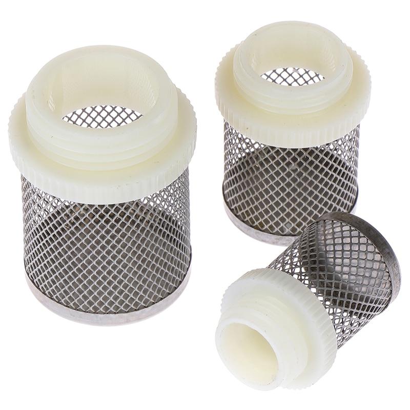 Agricultura de riego por goteo de agua filtro de malla acondicionado Tamiz inoxidable de acero Accesorios de tratamiento de agua para la herramienta de Agricultura pulgadas de riego del jard/ín 1