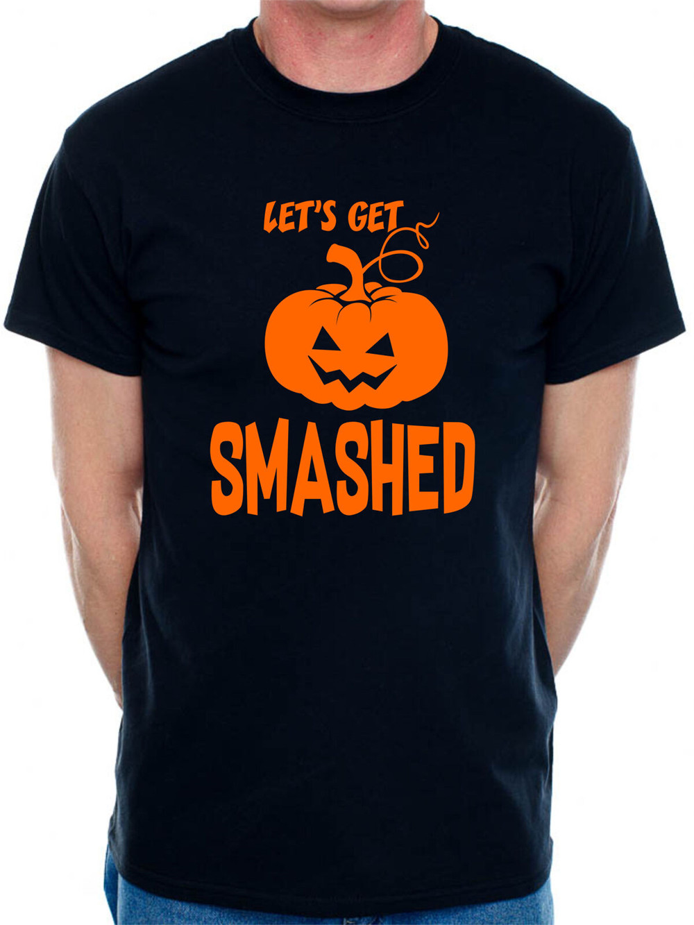 Halloween Fancy Dress Scary T Shirt Mens Womens Gift Unisex Pumpkin Horror NEW