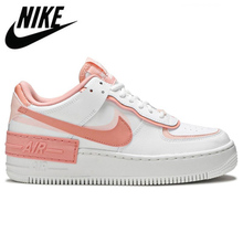 Sneakers Skateboarding-Shoes Platform 1-Shadow Air-Force Pink White Sports Nike Women