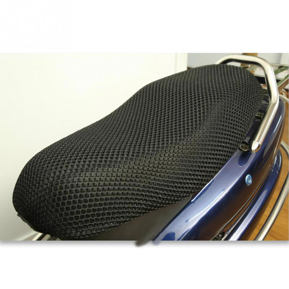 Cushion-Protector Motorcycle-Seat-Cover Heat-Insulation Mesh-Pad Cool Sunscreen Sun-Block title=