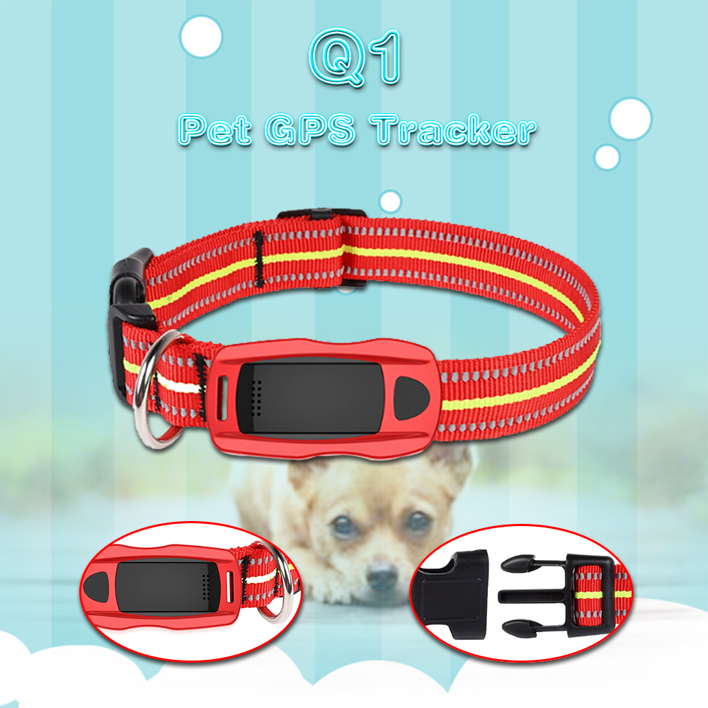 Pets GPS  tracker TK208 with collar SMS+GPRS two modes tracking No retail box