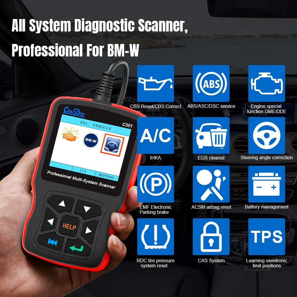 V1.40 Car Diagnostic Scanner Scan Programmer Code Reader For BMW E38 E39 E46