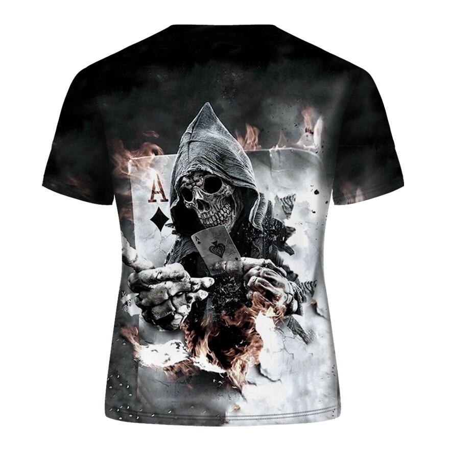 DE096-T恤短袖模版-后