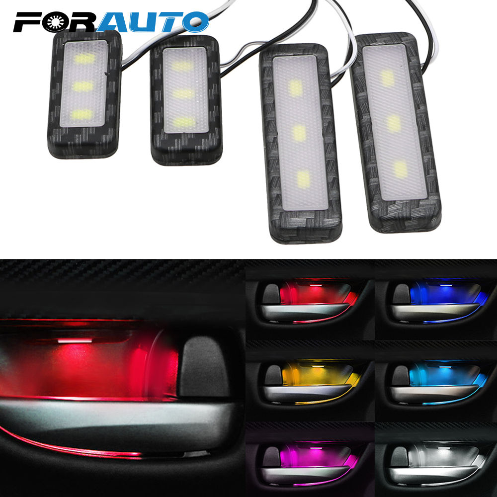 4Pcs Car Door Led Warning Lights for Audi Cars Solid White with Strobe Red YANF Easy Setup Door LED Laser Step Signal Lamp Kit Replacement for Audi A3 A4 B5 B6 B7 B8 A6 C5 C6 Q5 A5 TT