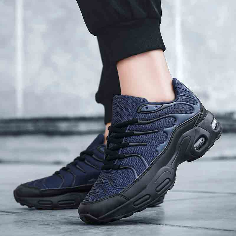 2020 Breathable Mesh Men Sneakers Comfortable Air Cushion Outdoor Walking Heightened Running Shoes Big Size 47 Zapatos Hombre title=