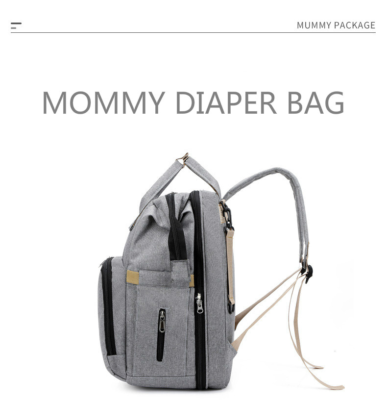 Travel Diaper Changing Backpack with Bed 5
