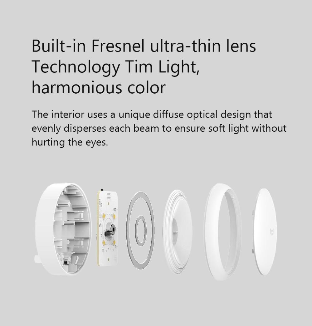 Bundled Sale Xiaomi mijia Yeelight induction night light (plug-in version) YLYD03YL led lamp bed lights for bedroom corridor Wal (5)