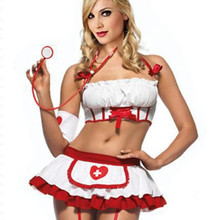 Erotic Lingerie Doll-Dress Underwear Sex-Costumes Nurse-Uniform Porno Cosplay Sexi Hot