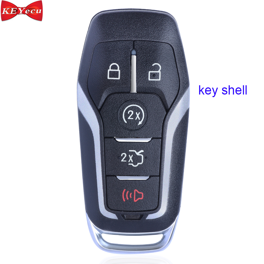Smart Remote Flip Key Fob 4 Button 315MHz for Ford Fusion 2013-2015 N5F-A08TAA