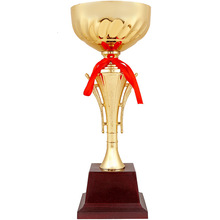 Trophy Cup Award-Craft Winner Souvenir Sports-Game Customized Trofeos Golden for Competition