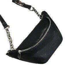 DIINOVIVO модная поясная сумка с цепочкой, Сумка с банановым поясом, новая брендовая поясная сумка для женщин, поясная сумка из искусственной ко...