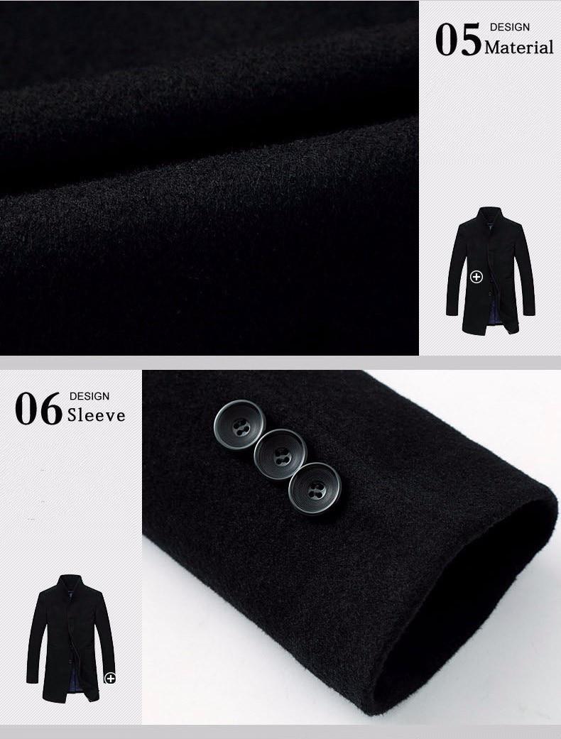 men wool jacket