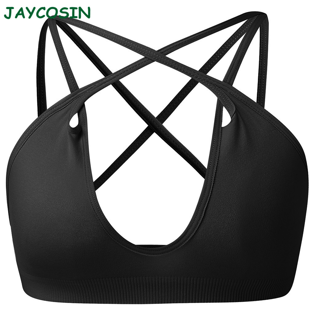 JAYCOSIN Clothes Women Fashion Mash Up One Piece Solid Color Bra Intimate High Elastic Boobs Versatility Bra Gift For Women 1210